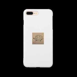 幸せハリネズミの幸せハリネズミ Smartphone cases