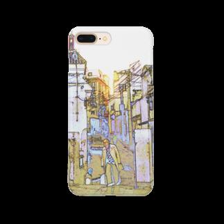 FUCHSGOLDのCG絵画:タンジェの風景 CG art: Tanger / Tangier Smartphone cases