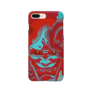 阿吽の般若ー吽ー Smartphone cases