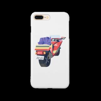 からす商のバイク占領 Smartphone cases