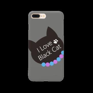 ericalの黒猫大好き3 Smartphone cases