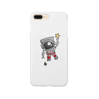 宇宙飛行士つんつるてん君 Smartphone cases