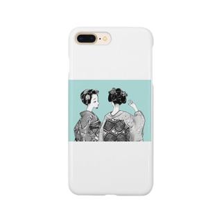 舞妓ちゃん③ Smartphone cases