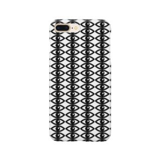 目がいっぱい Smartphone cases