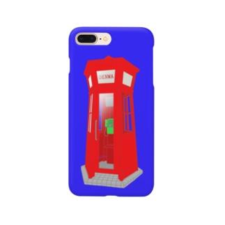 赤い電話ボックス Smartphone cases