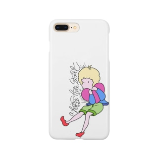 a happy heart late start boy Smartphone cases