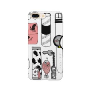 ネコのかばん(中身) Smartphone cases