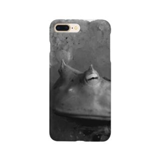 巌窟王の蛙 Smartphone cases