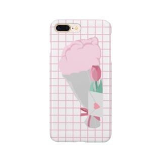 手紙と花束を。 Smartphone cases