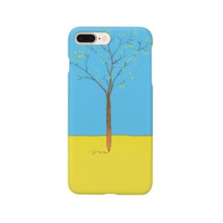 スマホケース*青い空* Smartphone cases