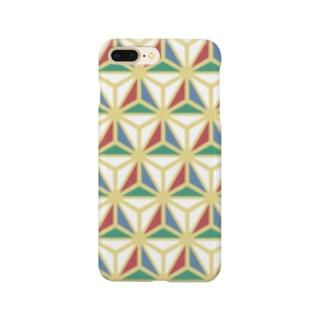 モダン和柄 Smartphone cases