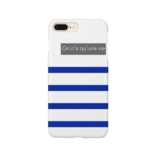 パネルボーダー Smartphone cases