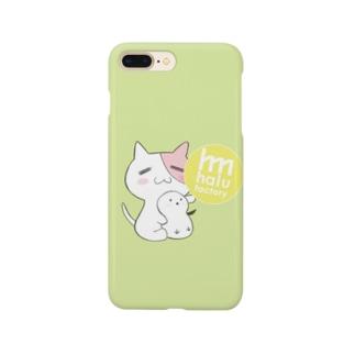 ともにゃんシマエナガスマホケース Smartphone cases