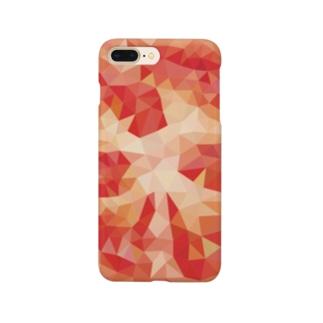 ポリゴントマト Smartphone cases