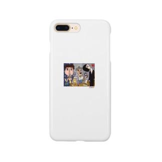 ピカソが描いたピカソ Smartphone cases