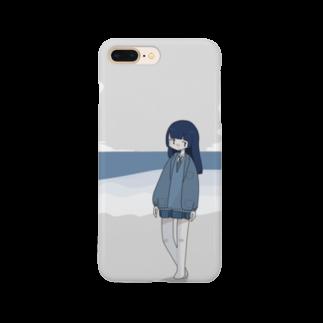 寝槃のうみべのおんなのこ Smartphone cases