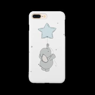 mochi__spopのぞうさん Smartphone cases