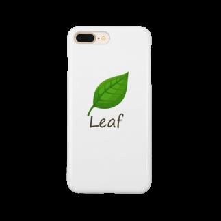 キタムラホタルの葉っぱ Smartphone cases