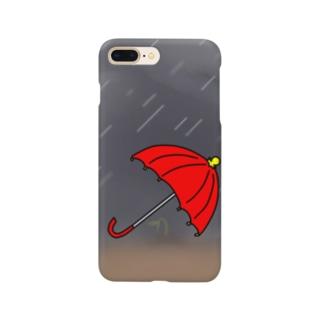 過保護な傘 Smartphone cases