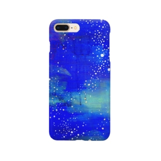 油絵「星へ還る」 Smartphone cases