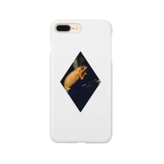 春眠暁を覚えずのカメレオン Smartphone cases