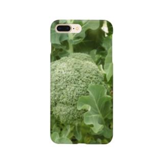 日本の野菜:ブロッコリー Broccoli Smartphone cases