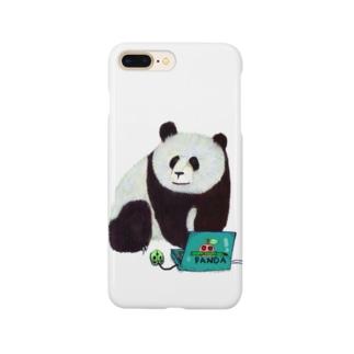 IT系のパンダ Smartphone cases