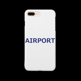 アメリカンベースのエアライングッズ AIRPORT Smartphone cases