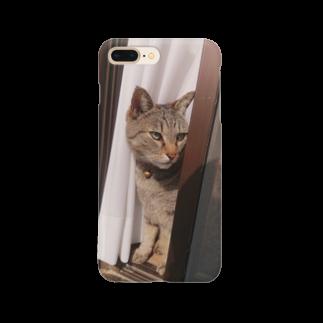 田中徳和の愛猫ミミさん Smartphone cases
