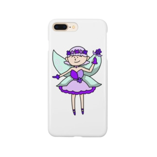 お花の妖精ちゃん Smartphone cases