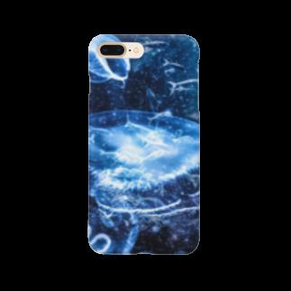 2641の海中世界 海月 Smartphone cases