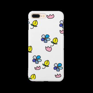 liveto100yearsの小花さん Smartphone cases