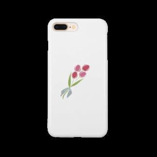 riino(リイノ)のちゅーりっぷ Smartphone cases