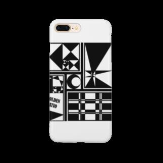 ζWalkerのGolden Design Smartphone cases