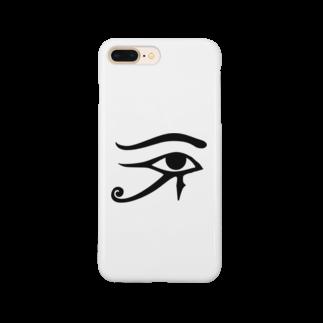 かもラグのラクかものホルスの目 Smartphone cases