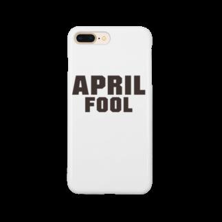 グラフィンの4月1日エイプリルフール用デザイン April fool Smartphone cases