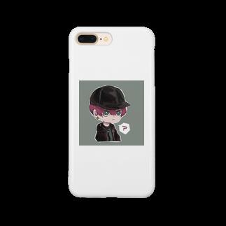 らくがきのミニオリキャラ Smartphone cases