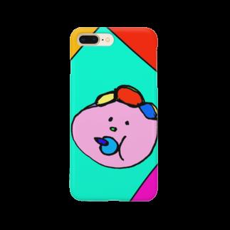 157_imのマイベイビー カラフル Smartphone cases