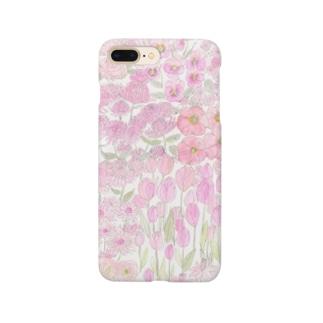 garden dream /pink Smartphone cases