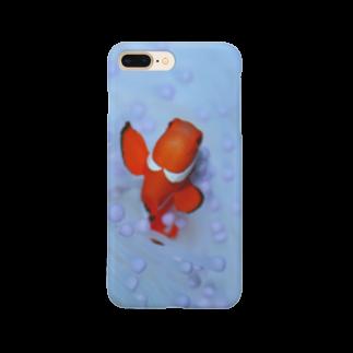 龍舞堂のカクレクマノミ Smartphone cases