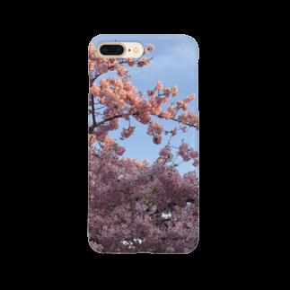 HAKOの夕焼けと春の華 Smartphone cases
