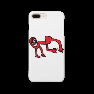 アメリカンベースのナスカのサル Smartphone cases