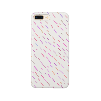 SANKAKU DESIGN STOREのハッピーPOPピンクA。 Smartphone cases