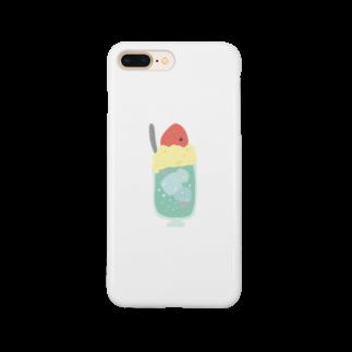 なぬのクリームソーダ Smartphone cases