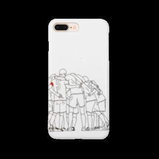 LUNAのサッカー Smartphone cases