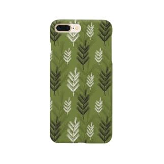 名前を忘れた針葉樹。 Smartphone cases