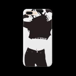 yAyuyo(やゆよ)のKoreanGirl Smartphone cases