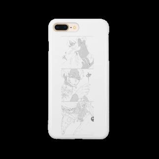 らくがきの桃太郎シリーズ Smartphone cases