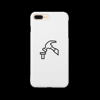 riichi0126roのトンカチ Smartphone cases