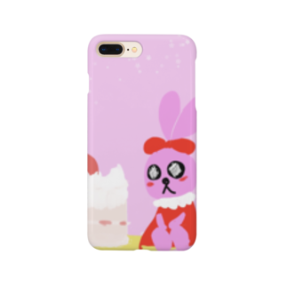 黒河亭の乙女兎 Smartphone cases